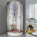La vente de luxe à chaud de haute qualité avec une douche de vapeur pure informatisé de couleur blanche