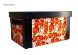 Artesanales de cuero de PU OEM Caja de almacenamiento /Cosmetc Box