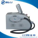 máquina do laser de 2handles Elight+ND YAG para a remoção do cabelo/cicatriz/sobrancelha/tatuagem