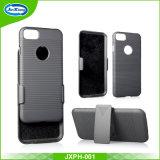 Qualitätsprite-Muster-Pistolenhalfter-kombinierter Kasten mit 180 Grad-drehendem Riemen-Klipp und Kickstand für iPhone 7