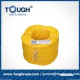 Corda sintética do guincho de Uhwmpe dos flutuadores da corda áspera do guincho de Tope