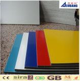 De Vuurvaste Bladen van het Samengestelde Materiaal van het Aluminium PVDF