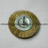 """"""" spazzola della rotella del filo di acciaio 3 con l'asta cilindrica (YY-058)"""