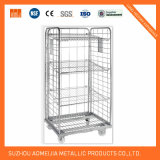 Metallfaltender Ineinander greifen-Rollenrahmen/Logistik-Karre