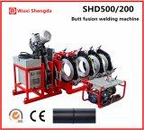 Сварочный аппарат Shd500/200 сплавливания приклада трубы HDPE гидровлический пластичный