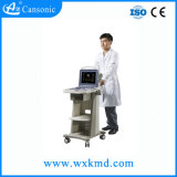 Escáner de ultrasonido portátil Doppler Color carrito