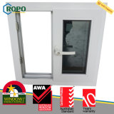 Slider Impact-Resistant Award-Winning Windows de UPVC com vidro matizado