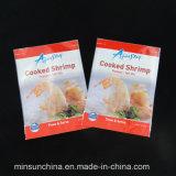 Sacchetti impaccanti di stampa del nylon di plastica di vuoto per i frutti di mare