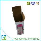 Caixa de empacotamento de vidro do entalhe feito sob encomenda do cartão do papel de impressão