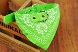 Chiffon de coton Fashion Cool de gros chien de compagnie chats Collier Bandage triangulaire