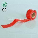 Nastro di fusione della gomma di silicone di auto impermeabile con 0.5mmx25mmx3m per i tubi colanti
