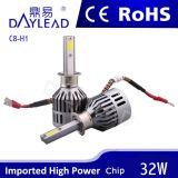 옥수수 속 칩을%s 가진 2800lm 32W 높은 광도 LED 헤드라이트