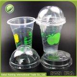 ドームのふたが付いている使い捨て可能なPPのプラスチックアイスクリームのコップ