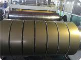 De kleur Met een laag bedekte die Rol van het Aluminium voor het Materiaal van het Dakwerk wordt gebruikt