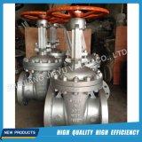 Válvula de compuerta de acero inoxidable agua Flaned