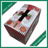 Un emballage cadeau Apple boîte en carton<br/> fruits pommes