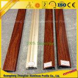 Profilo di alluminio del grano di legno di trasferimento di Customzied PVDF/Heat per la decorazione