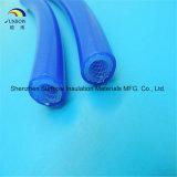 Tube en caoutchouc de silicones avec les fibres de verre/polyester