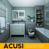 Neue erstklassige einfache Art-festes Holz-Badezimmer-Großhandelseitelkeit (ACS1-W42)