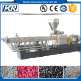 Granulador plástico gemelo de la producción Line/PP/PE del estirador de tornillo de Masterbatch del llenador del PE que hace la máquina