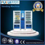 ビジネスのための熱い販売の機密保護デザインスマートな自動販売機