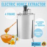 Fileur électrique d'acier inoxydable de l'apiculture de bâti de l'extracteur 4/8 de miel