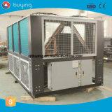sistema enfriado de aluminio del refrigerador de agua del tornillo 80ton con el compresor de Hanbell
