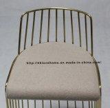 Мебель стального трактира напольная шнурует светлую - серый провод обедая стулы штанги