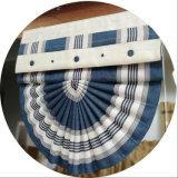 Cortinas romanas do ventilador do Chenille da isolação sadia para o quarto (32R0016)
