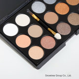 15 Coloree la gama de colores caliente de la sombra de ojo de los cosméticos del maquillaje del sombreador de ojos