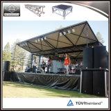 El alto grado de la etapa de conciertos al aire libre la etapa de la banda/Portable