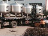 FLのステンレス鋼の産業アクアリウムの大きい水平の砂フィルター
