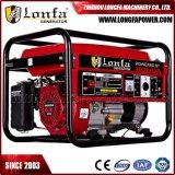 Gerador de Taizhou 5kw/5kVA profissional de Motor a gasolina gerador de CA para a Honda