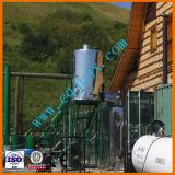 Черный отходов смазочного масла Переработка в Отдел дизельного топлива производства