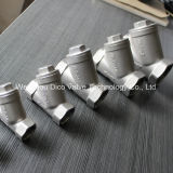 Stainless Steel CF8 Thread Y-type Strainer for Removing Impurity (oem)
