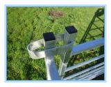 Панель загородки 7 овец рельсов/строб Hurdle/с ограждать петель временно
