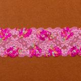 Tessuto floreale a buon mercato stampato del merletto della tessile della maglia della guipure per la tovaglia