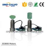 Systeem van de Scanner CO2/YAG Js3808 Galvo van de Kosten van de Lineariteit van 99.9% het Hoge Efficiënte