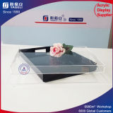 Bandeja de acrílico redonda de la ducha de la venta al por mayor de la fuente del fabricante de China con la maneta