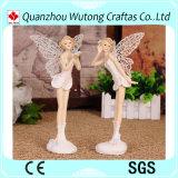 ホーム装飾のためのヨーロッパ式の安い樹脂の妖精の置物