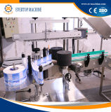 De automatische Zelfklevende Machine van de Etikettering van de Fles van Twee Etiket