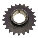 Piñón de cadena 06-1b8 06-1b9 06-1b10 del rodillo de acero de la alta precisión