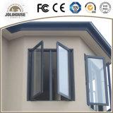 Guichet en aluminium approuvé de tissu pour rideaux de certificat de la CE