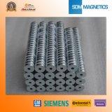 Vrije Micro- van het Neodymium van Steekproeven ISO/Ts16949 Gediplomeerde Magneet