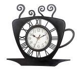 Mouvement quartz horloge temps de thé pour la décoration d'accueil