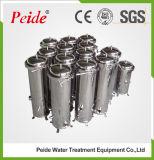Caja del filtro de acero inoxidable Micron Multi Cartucho de Filtración