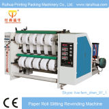 Máquina auto-adesiva de rebobinamento de papel de etiqueta