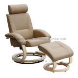 사치품은 머리 받침을%s 가진 Recliner 의자를 이완한다