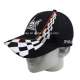 La broderie faite sur commande recouvre les casquettes de baseball promotionnelles de chapeau de Snapback de chapeau de chapeaux de coton de Burshed
