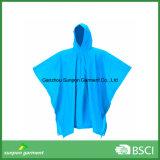 Revestimento de chuva com PVC Revestimento Rainwear Poncho